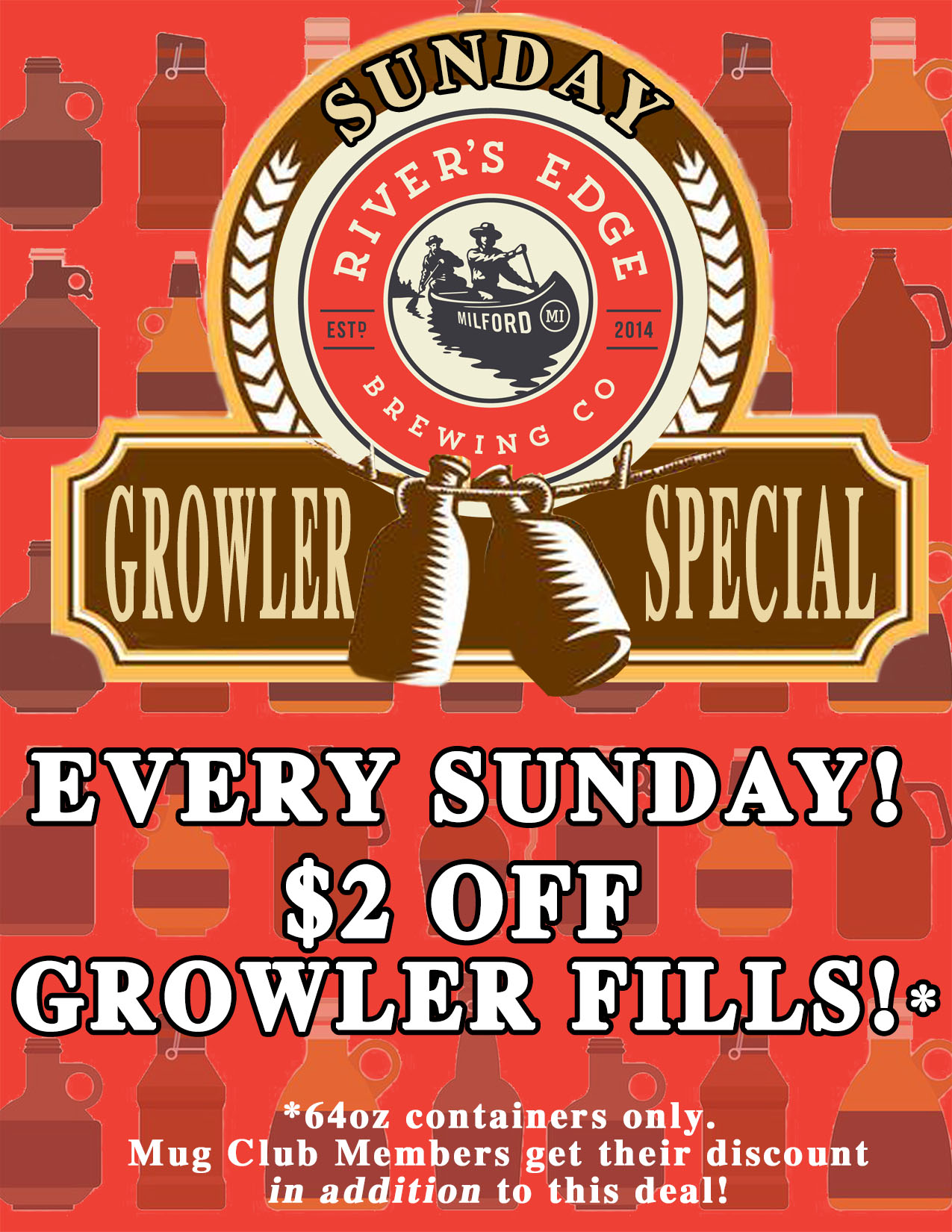 Sunday Growler Fill Special small